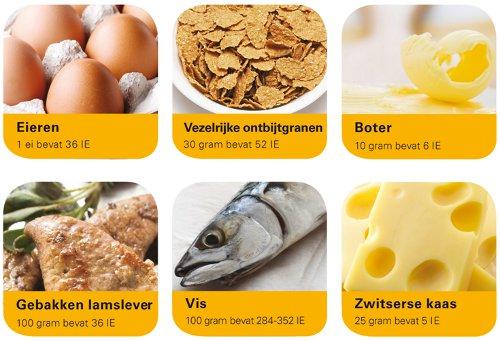 Producten vitamine D