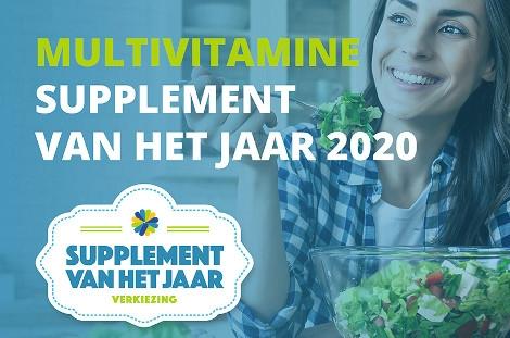 Multivitamine Supplement van het Jaar 2020